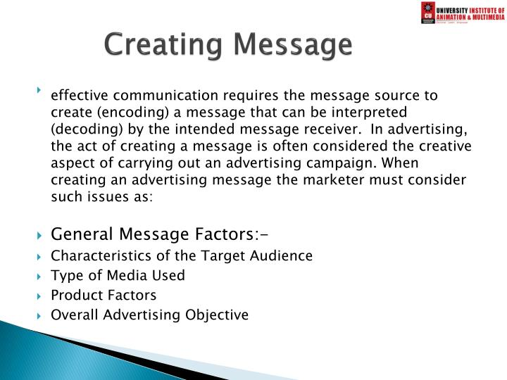 Creating Message