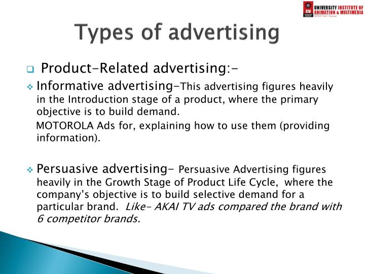 Types of advertising1