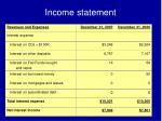 income statement2