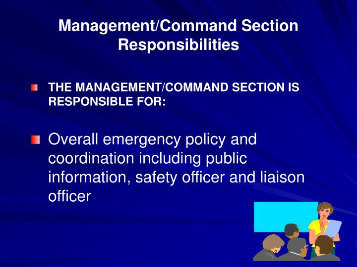 Management/Command Section