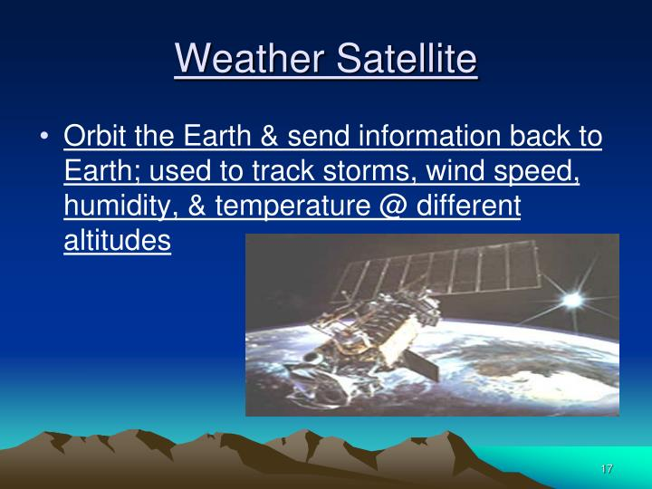 Weather Satellite