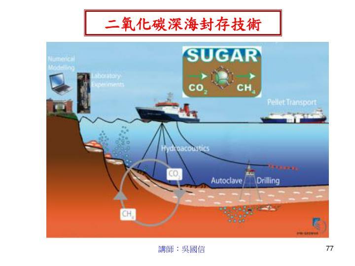 二氧化碳深海封存技術