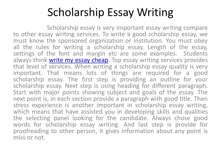 good candidate for scholarship essay The scholarship essay gives you an through the essays the reviewer has achance to learn more about you and why you are a good candidate for the scholarship.