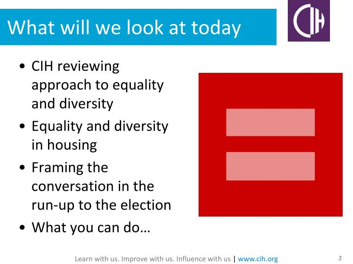 equality and diversity in the care home This unit will help you to understand how equality and diversity impact on the delivery of person-centred, safe and effective care health services understanding local equality and diversity in this activity, you will look at equality and diversity from the level of the service you work in.