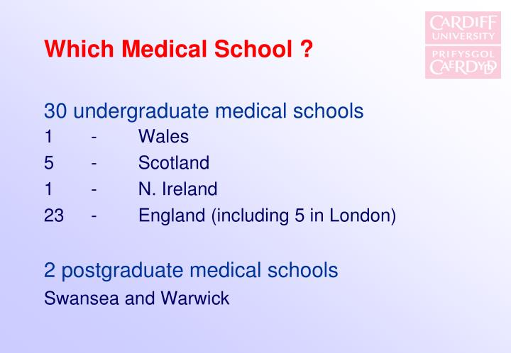 Which Medical School ?