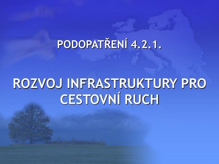 PODOPATŘENÍ 4.2.1.