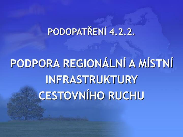 PODOPATŘENÍ 4.2.2.