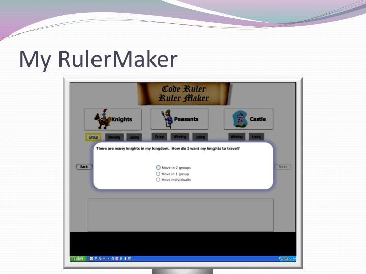 My RulerMaker