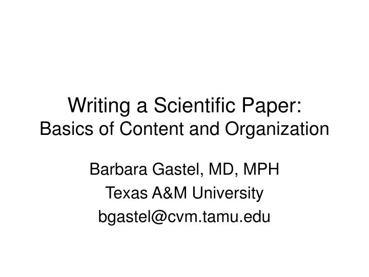 how to write a scientific paper Dr helmenstine holds a phd in biomedical sciences and is a science writer, educator, and consultant she has taught science courses at the high if you're preparing a research paper or grant proposal, you'll need to know how to write an abstract here's a look at what an abstract is and how.