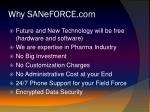 why saneforce com