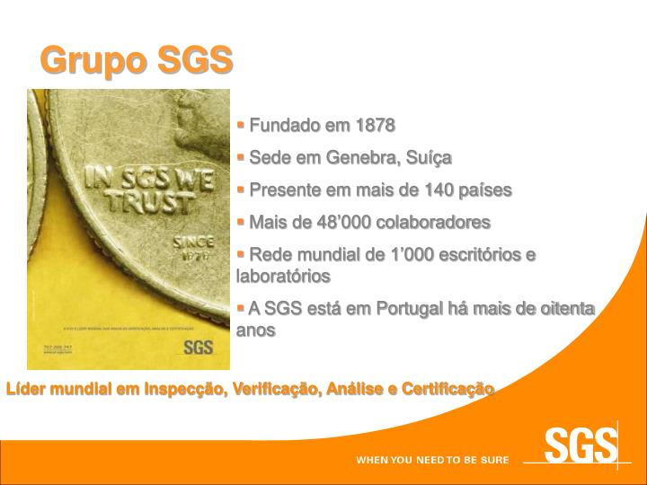 Grupo SGS
