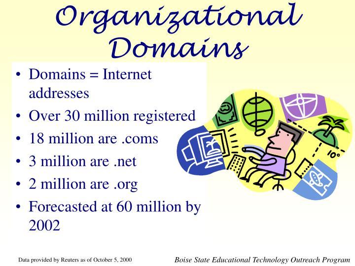 Organizational Domains