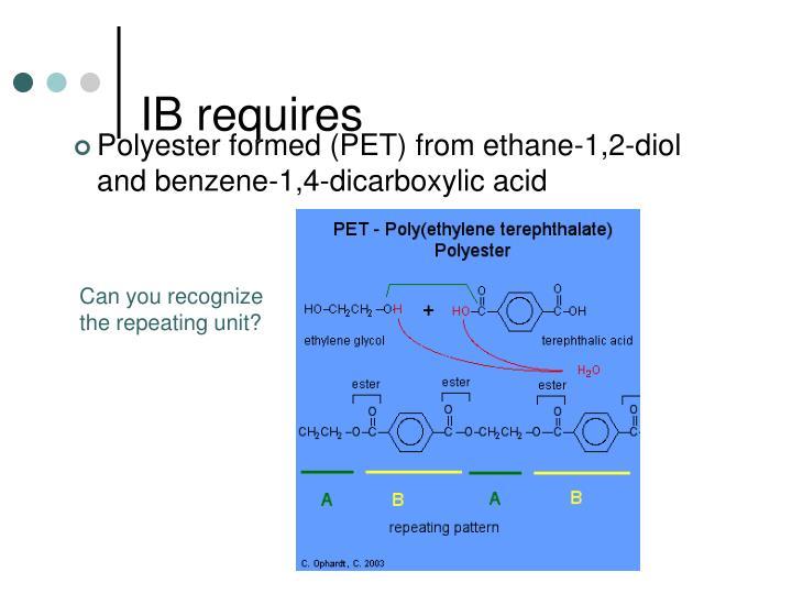 IB requires