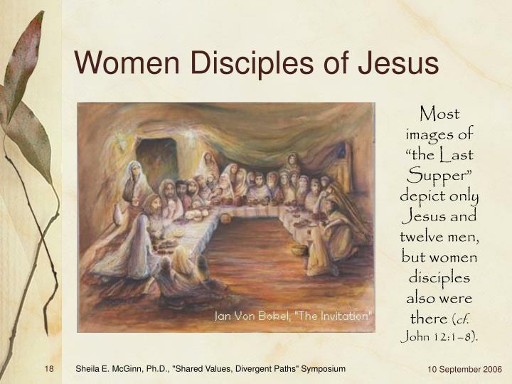Women Disciples of Jesus