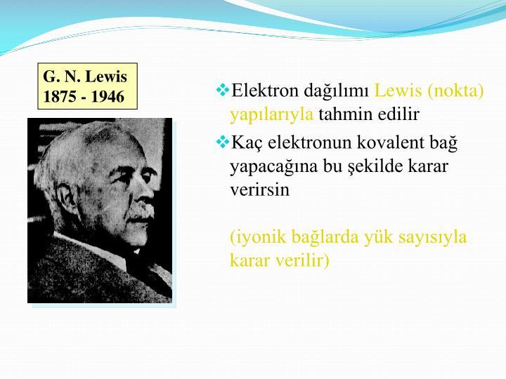 G. N. Lewis
