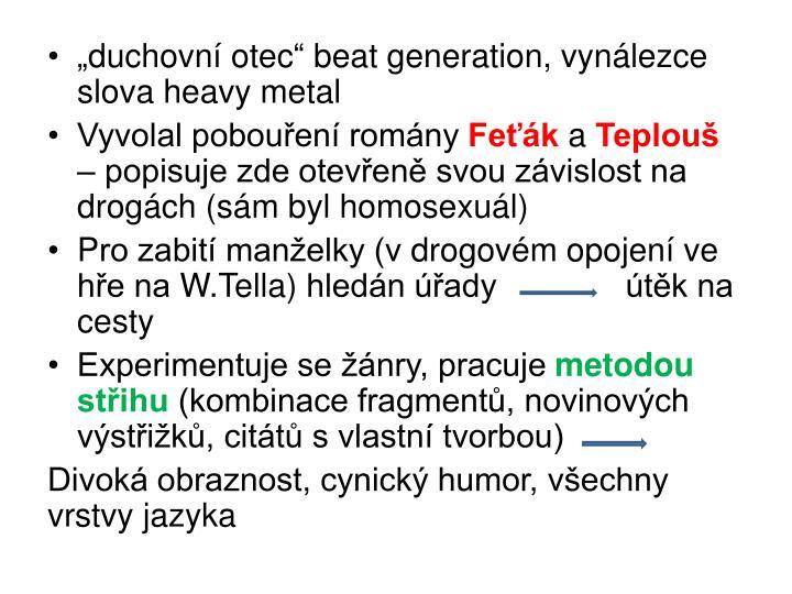 """duchovní otec"" beat"