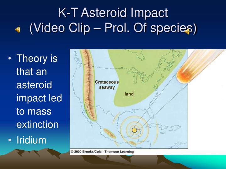 K-T Asteroid Impact