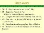 first century1