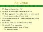 first century3