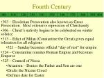 fourth century