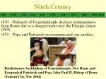 ninth century1