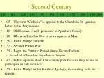 second century