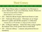 third century1