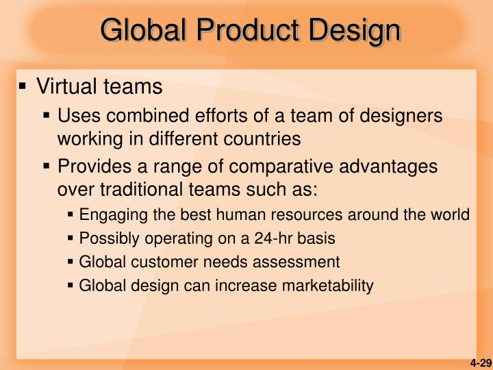 Global Product Design