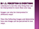 sb 1 2 perception is everything