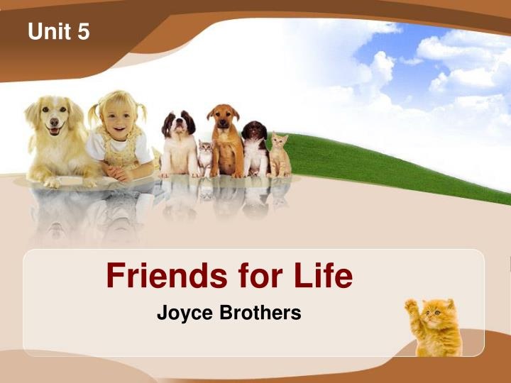 friends for life joyce brothers n.