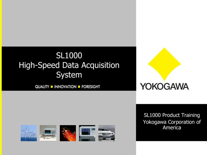 sl1000 high speed data acquisition system n.