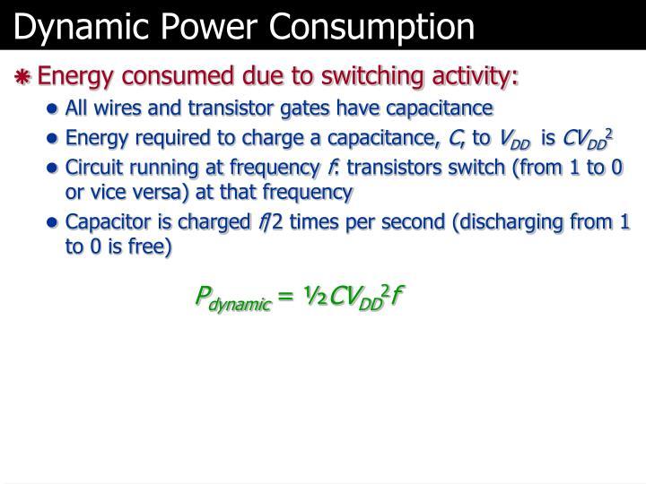 Dynamic Power