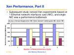 xen performance part ii