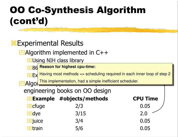 Reason for highest cpu-time: