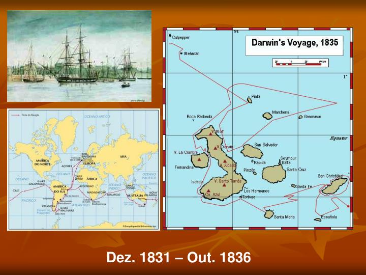 Dez. 1831 – Out. 1836