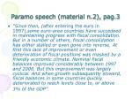 paramo speech material n 2 pag 3
