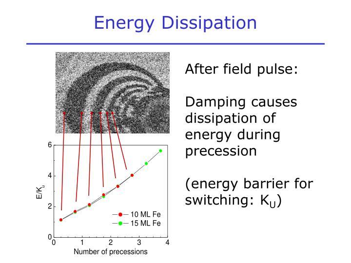 Energy Dissipation