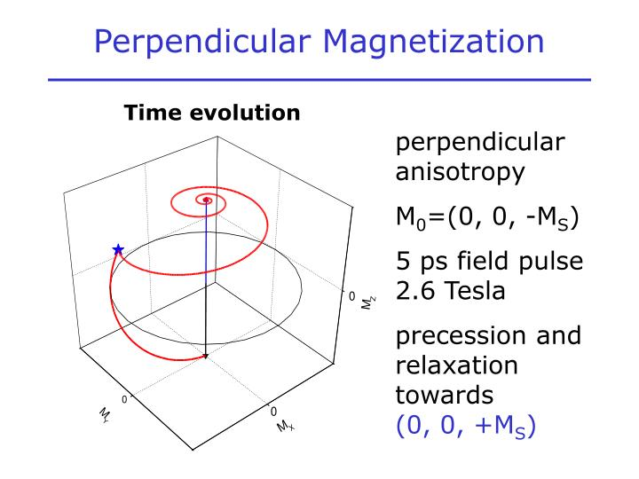 Perpendicular Magnetization