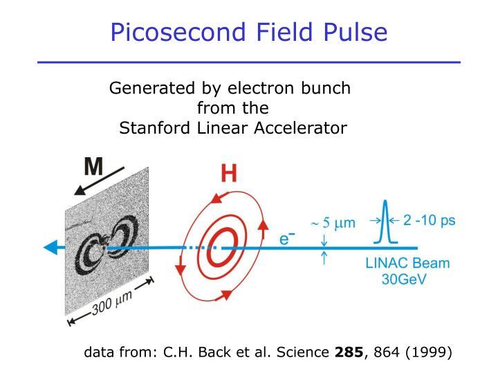 Picosecond Field Pulse