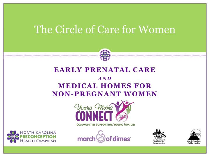 the circle of care for women n.