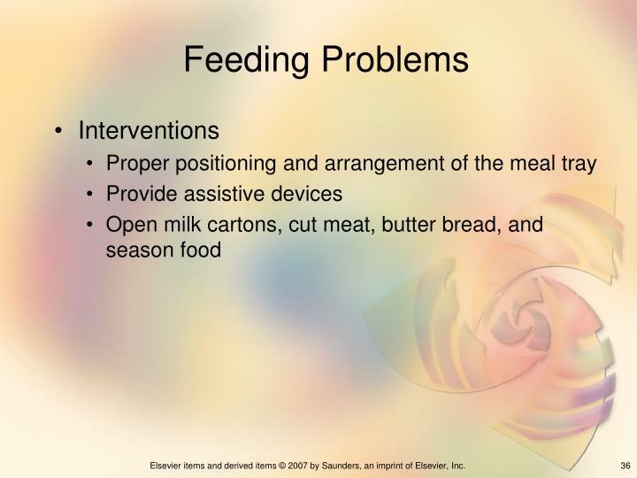 Feeding Problems