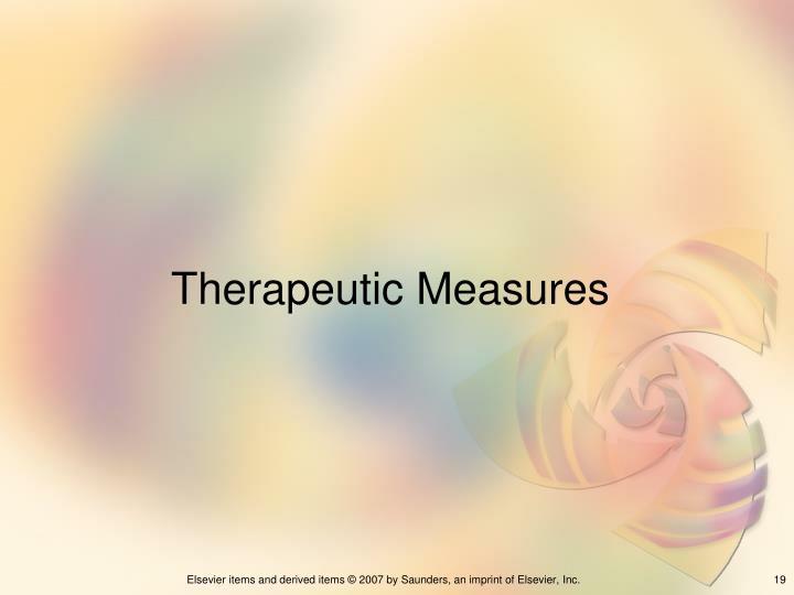 Therapeutic Measures