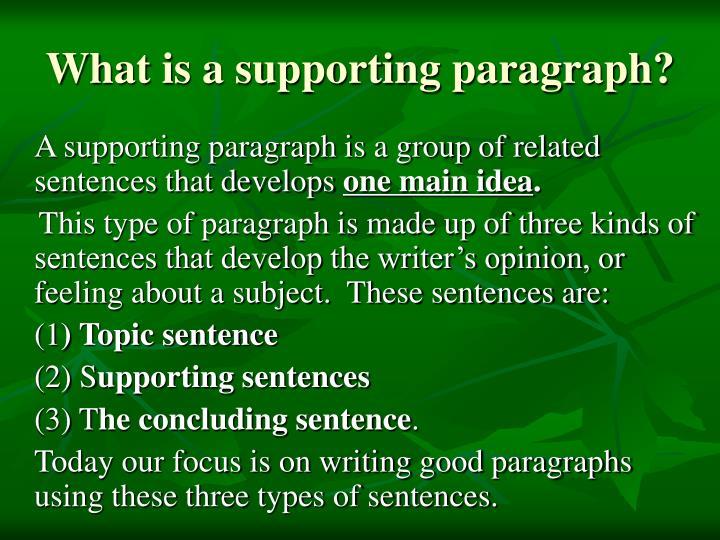 three kinds of sentences