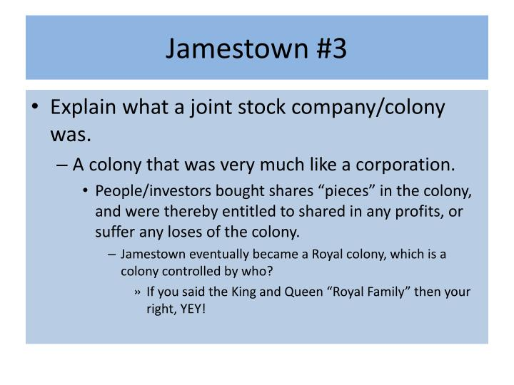 Jamestown #3