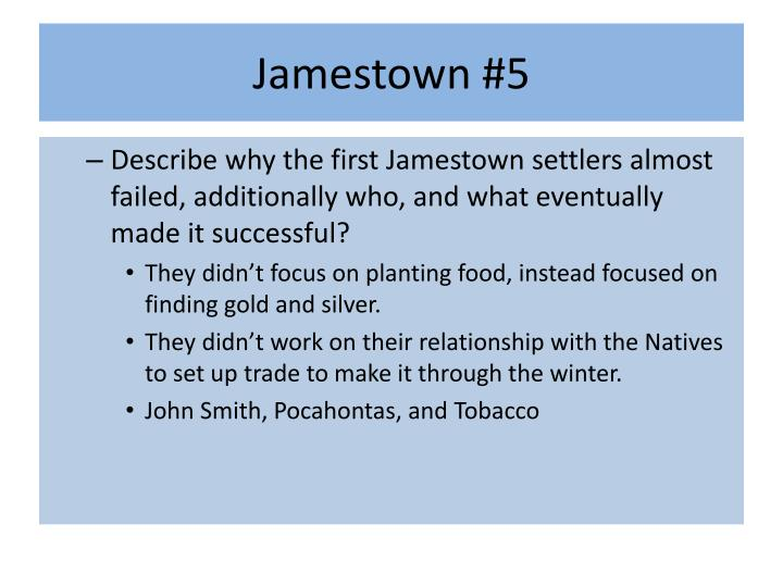 Jamestown #5
