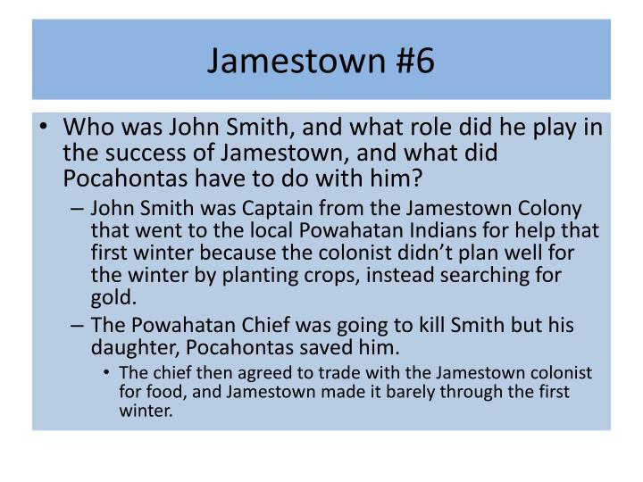 Jamestown #6