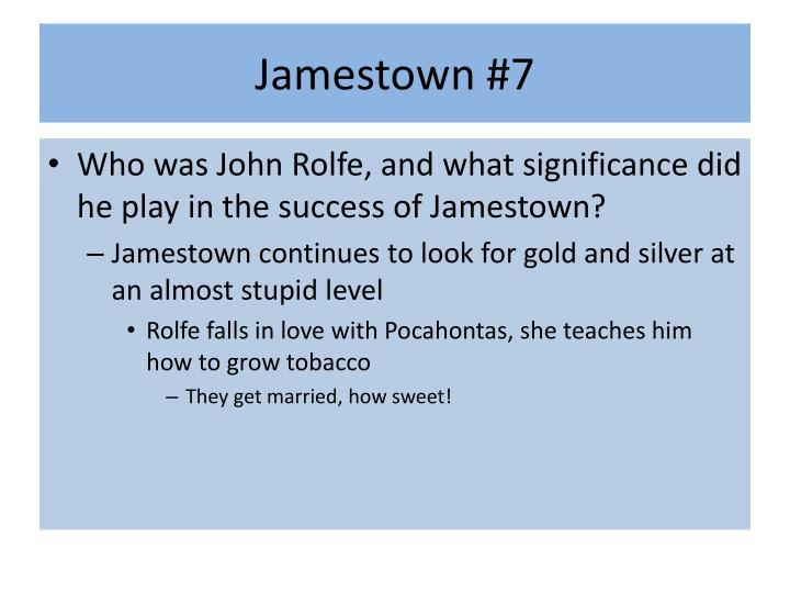 Jamestown #7