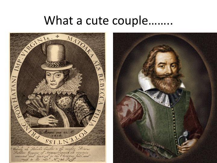 What a cute couple……..