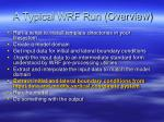 a typical wrf run overview3