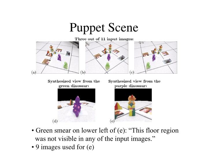 Puppet Scene